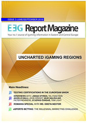 EEGReport Magazine – Issue 3 – June 2016/September 2016 – Uncharted iGaming Regions