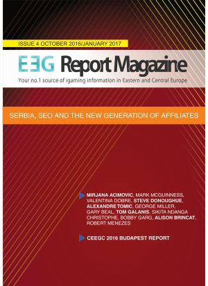 EEGReport Magazine – Issue 4 – October2016/January 2017 – Serbia, SEO and the New Generation of Affiliates
